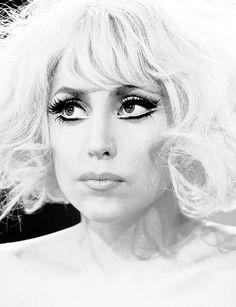 Lady Gaga is so flawless looking.
