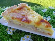 TARTE RACLETTE (thermomix)