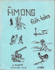 Six Hmong Folk Tales 1992 2nd Edition Paperback Advanced Level #J450