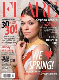 Tatiana Maslany sur le Flare magazine et la bande-annonce de la saison 3 d'Orphan Black dévoilée | HollywoodPQ.com