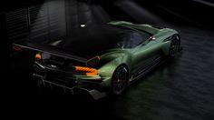 Aston Martin is known around the world as one of the premier luxury car makers. The Aston Martin Vulcan is a track-only supercar Aston Martin Lagonda, Aston Martin Vulcan, New Aston Martin, Bugatti, Maserati, Ferrari, Lamborghini, Sport Cars, Horses
