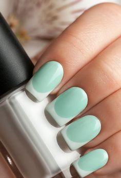 Algunas ideas para hacer una manicura francesa #Manicura #Uñas