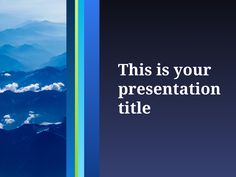 Free Simple Powerpoint Template Or Google Slides Theme  Simple