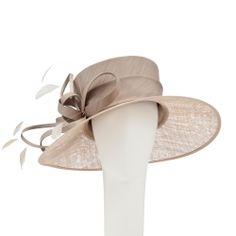 John Lewis Uma Wide Brim Occasion Hat