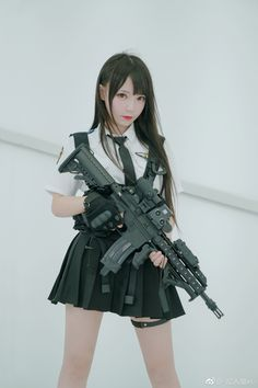 older women younger men women gun Women in the military . Women with guns . Girls with weapons Human Poses Reference, Pose Reference Photo, Cute Asian Girls, Cute Girls, Mädchen In Uniform, Gunslinger Girl, Beautiful Japanese Girl, Military Women, Military Army