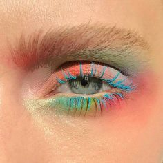 Colourful Eye Makeup #eyemakeup #editorialmakeup #makeupartist