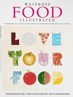 Waitrose Food Illustrated- Love your food