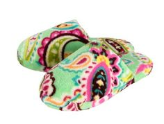 Cutest slippers! Vera Bradley..I finally received a pair for Christmas...warm and comfy and pretty to boot!! :) #mysuitesetupsweepstakes
