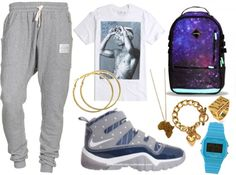 """""""This Is How Gangstas Roll."""" by neekcole ❤ liked on Polyvore"""