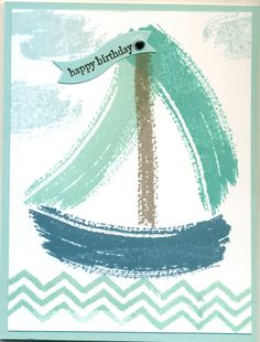 Cased from Peggy Outen: Bermuda Bay, Island Indigo, Pool Party. Used a favorite set: Work of Art.