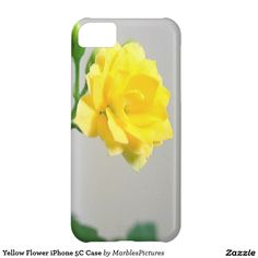 Yellow Flower iPhone 5C Case #case #iPhone #flower #yellow #flora
