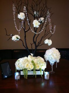 DIY Centerpieces for Weddings Pinterest | My DIY Manzanita Centerpiece for under $30 : wedding ... | Wedding i ...