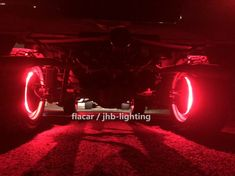 "jhb-lighting IP68 15.5/"" RGB Color Change-Shifting illuminated LED Wheel Lights"