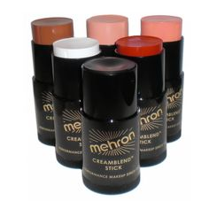 Hold up - do you know how much makeup is in one of these tubes? A LOT. .  .great value indeed.  Mehron CreamBlend Stick comes in a quick application swivel case that glides on smooth and effortlessly. Mehron CremBlend Stick is a non greasy formula that ensures a clean professional foundation application every time.