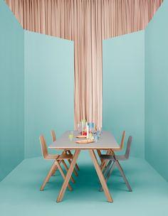 Aankleding voor nieuwe tafel: vaasjes, theelichtjes, ....