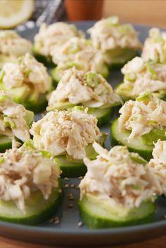 California Sushi Bites (but do chicken salad instead)