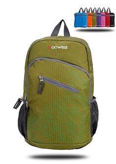 Gowiss Backpack - Rated 20L   33L- Most Durable Packable Convenient Lightweight  Travel Backpack Daypack 99a734ad3ce80