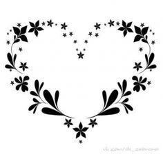 Картинки по запросу узор сердце