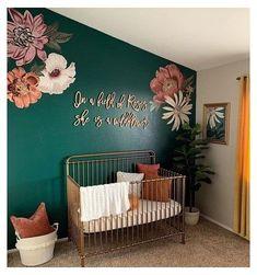 Nursery Signs, Nursery Wall Decor, Baby Room Decor, Room Baby, Baby Rooms, Garden Nursery, Baby Room Themes, Accent Wall Nursery, Rustic Nursery