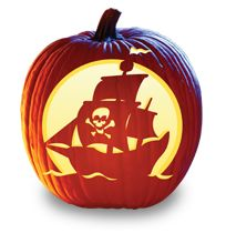 Bone Voyage - Pumpkin Masters Free Halloween Carving Stencils