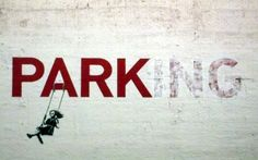 20 Stellar Street Art Installations via Brit + Co.- No street art roundup would be complete without Banksy, but have you seen these animated GIFS from Made by ABVH? I love how they bring a little motion to Banksy's pieces. Banksy Graffiti, Street Art Banksy, Graffiti Artwork, Bansky, Banksy Prints, Banksy Artist, Graffiti Quotes, Graffiti Tagging, Graffiti Artists