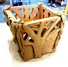by Isabella. Kriya, pottery 1, project 3. June 2015