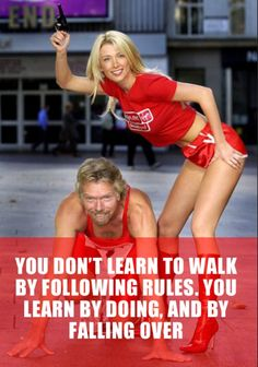 Take a slice of wisdom from Richard Branson with 15 Inspiring Quotes for successful living. Holly Branson, Richard Branson Quotes, Success Quotes, Life Quotes, Awakening Quotes, Fall Over, Learn To Love, Walking By, Chopper