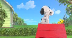 - Some days you just have to spend laughing with your best friend. See The Peanuts Movie with your BFF November Charlie Brown Cartoon, Charlie Brown Cafe, Charlie Brown And Snoopy, Peanuts Movie, Peanuts Cartoon, Peanuts Snoopy, Gifs Snoopy, Snoopy Quotes, Disney Marvel