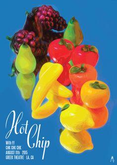 Hot Chip 17″ x 24″ Artist: Kii Arens