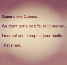 Much love to my lovely female hustlers out there keep on your grind