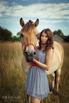 ABOUT THE GIRL AND HER HORSE II by Dali Bor Walk on 500px