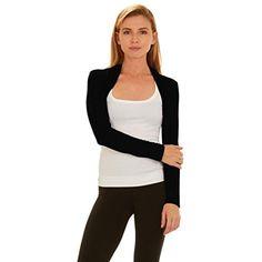 Womens Bolero Shrug - Long Sleeves Open Cropped Cardigan  shrugs   shrugsmitlanghantel  shrugsdeutsch  shrugsemoji  shrugssinnvoll   shrugsmultipresse ... 95dcfe280