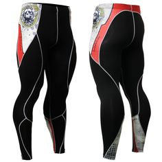 Mens Workout Fitness Compression Leggings Pants Bottom MMA Crossfit GYM Weight Lifting Running Bodybuilding Skin Tights Trousers Mens Compression Pants, Compression Clothing, Tight Leggings, Leggings Are Not Pants, 3d Prints, Workout Pants, Gym Pants, Running Pants, Sport Outfits