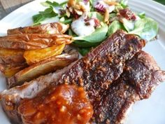 Gluten Free Dairy Free Baby Back Ribs - Dinner