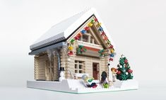 Thanks to everyone who entered the sixth annual Expand the Winter Village Contest. Once again, it has been inspiring to see the additions to the winter . Lego Christmas Village, Lego Winter Village, Noel Christmas, Lego Gingerbread House, Lego Words, Casa Lego, Construction Lego, Lego Activities, Lego Trains