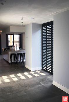 Aluminium Shutters - Fractions - home inspirations - Interior Desing, Interior Styling, Room Decor Bedroom, Interior Design Living Room, Casa Milano, Interior Windows, Home Fashion, Home And Living, Decor Styles