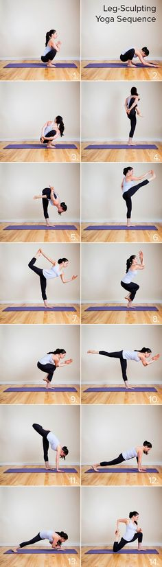 Yoga sequence for legs | yoga sequence to make your tight pants as proud as J Lo's and Jimmy Fallon's. #youresopretty