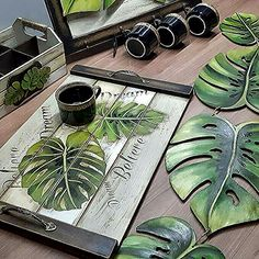 (notitle) - DIY and Crafts Diy Arts And Crafts, Wood Crafts, Diy Crafts, Wood Projects, Craft Projects, Projects To Try, Tole Painting, Painting On Wood, Decoupage Vintage