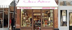 Jane Asher Party Cakes | Sugarcraft & Celebration Cakes, London.  Good place to buy baking supplies, located at 24 Kale Street near Chelsea Green