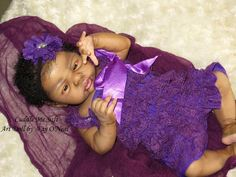 AA / Ethnic Reborn Baby Girl for sale - Esme by Laura Lee Eagles Reborn Baby Girl, Reborn Babies, African American Baby Dolls, Reborn Dolls For Sale, Realistic Baby Dolls, Pretty Baby, Laura Lee, Eagles, Art Dolls