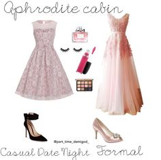 Prom Outfits, Cute Outfits, Prom Dresses, Formal Dresses, Aphrodite Cabin, Percy Jackson Outfits, Fandom Outfits, Inspired Outfits, Disneybound