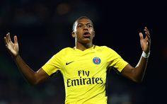 Download imagens Kylian Mbappe, jogadores de futebol, O PSG, futebol, Ligue 1, O Paris Saint-Germain, Mbappe, estrelas do futebol