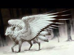 Lobo alada