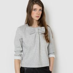 How about some casual French style made easy? Check out our women's sweaters & hoodies to create a casual comfy look. Mademoiselle R, Shades Of Grey, Marie, Couture, Sweatshirts, Blouse, Tees, My Style, Sweaters