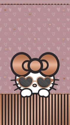 Rose Gold Hello Kitty Hello Kitty Wallpaper Gold Hello inside Hello Kitty Rose Wallpaper - Find your Favorite Wallpapers! Hello Kitty Backgrounds, Cute Wallpaper For Phone, Wallpaper Iphone Disney, Cute Backgrounds, Rose Wallpaper, Cellphone Wallpaper, Cartoon Wallpaper, Cute Wallpapers, Arabesque
