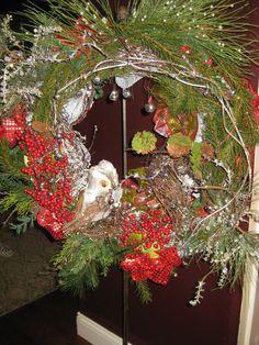 Christmas Wreath for my sister, Nita