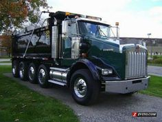dump trucks for sale | KENWORTH T800 QUAD AXLE DUMP TRUCK FOR SALE - Cleveland - Trucks ...