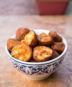 Crispy Fat-Free Spanish Potatoes by Fatfree Vegan Kitchen Low Fat Vegan Recipes, Fat Free Vegan, Whole Food Recipes, Cooking Recipes, Recipes Dinner, Delicious Recipes, Sin Gluten, Gluten Free, Tofu