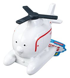 Push Along Harold from Fisher-Price is easy to grasp, so he's ideal for your child's small hands. This heroic helicopter is also the perfect introduction to the world of Thomas & Friends, or a great a