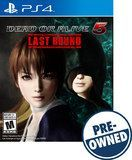 Dead or Alive 5: Last Round - PRE-Owned - PlayStation 4, Multi, PREOWNED